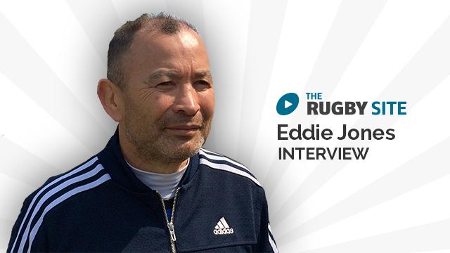 Eddie Jones Interview